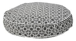 Round Dog Bed, Medium - 36 L x 36 W, Gray