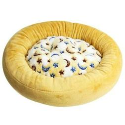 Round Dog Bed Winter Warming Washable