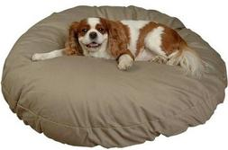 Snoozer Round Pillow Pet Bed Snoozer Round, All Fabric, X-La