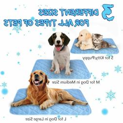 Self-Cooling Gel Pet Mat For Floor Bed Cool Dog Cushion Pad