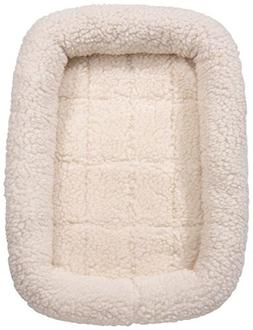 Slumber Pet Sherpa Crate Dog Beds Soft Plush Comfortable Bed