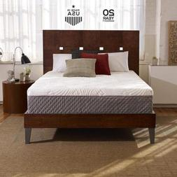 Sleep Innovations Shiloh 12-inch Memory Foam Mattress with Q