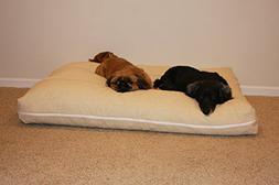 Shredded Memory Foam Dog Pet Bed Mattress with Gel, Large Si