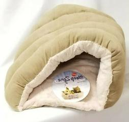 """Ethical Pets Sleep Zone Cuddle Cave Pet Bed, 22"""", Tan"""