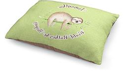 RNK Shops Sloth Dog Pillow Bed