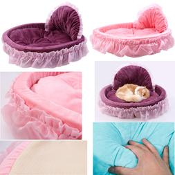 Small Dog Bed Lace Bow Princess Fashionable And Comfortable