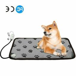 Electric Pad Puppy Dog Bed Mat Soft Warm Chew Resistant Cord