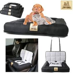 Smooth Washable Pet Cushion Car Seat Belt Carrier Folding fo