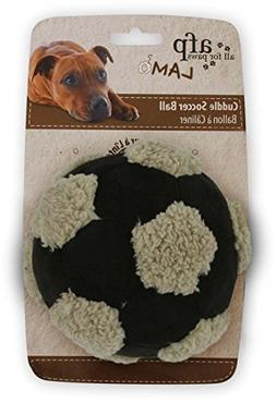 All for Paws Soccer Ball with lambskin Large