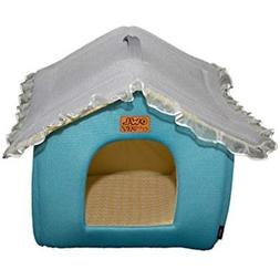 Soft Categories Cute House Shaped Princess Cats/dogs Pet Bed