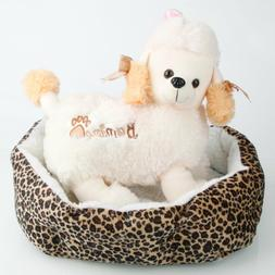 Soft Cotton Pet Dog Puppy Warm Waterloo Bed Nest with Pad Si