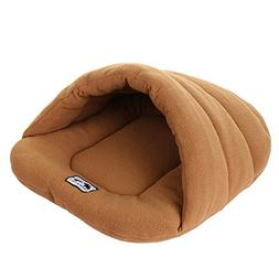 UEETEK Soft Warm Dog Cat Cave Bed House Cotton Plush Pet Sle