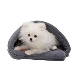 Yuting Soft Warm Pet Dog Cat Bed House Plush Cozy Nest Mat P