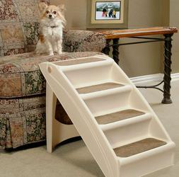 Stairs For Dogs To Get On Bed Steps High Beds Pets Folding P