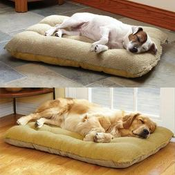 SUPER Large Pet Bed Mattress Dog Cat Cushion Pillow Mat Blan