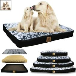 Super Large Pet Dog Bed Deluxe Ultra Plush Mattress Pet Bed