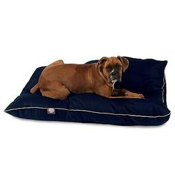 Super Value Dog Pet Bed Pillow by Majestic Pet Solid Blue