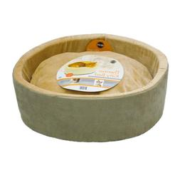 K&H Pet Products Thermo-Kitty Heated Pet Bed Large Sage 20""