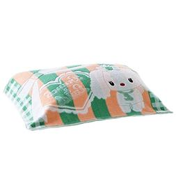 George Jimmy 2 PCS Thicken Towel Soft Cotton Pillow Blanket