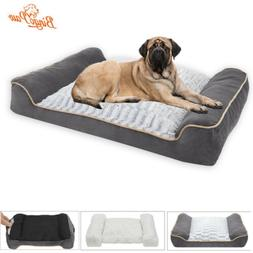 Thicken Waterproof Extra Large Dog Bed with Pillow M/L/XL/XX