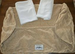Orvis Tough Chew ToughChew Pet Dog Bed Cover & Liner Set Med
