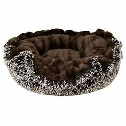 Bessie and Barnie Ultra Plush Godiva Brown/ Frosted Willow M