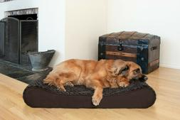 Ultra Plush Luxe Lounger Orthopedic Contour Pet Bed Dog Bed