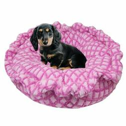 Bessie and Barnie Ultra Plush Pink it Fence Deluxe Dog/ Pet