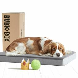 Ultra Soft BarkBox Memory Foam Dog Bed Mattress Plush Orthop