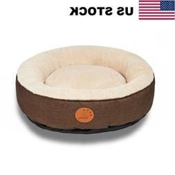 UP Washable Dog Bed Waterproof Anti Slip Chew Resistant Comf