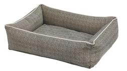 Bowsers Urban Lounger Dog Bed, Large, Herringbone