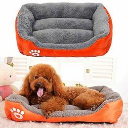 US Large Pet Dog Cat Bed Puppy Cushion House Soft Sofa Warme