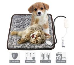 Pet Heating Pad Indoor Outdoor Cat Dog Bed Kennel Doghouse H