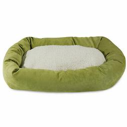 Majestic Pet Products Villa Sherpa Bagel Bed