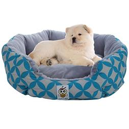Nunubee Warm Oval Pet Bed Dog Pet Bed Soft Animal Bed Pet Ne