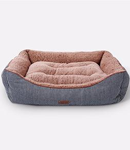 Smiling Paws Pets Washable Premium Dog and Cat Bed/Lounge wi