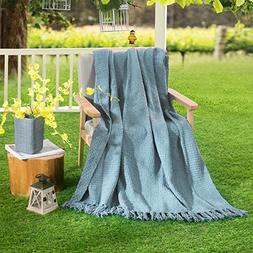 HollyHOME Oversized and Thick Throw Blanket 50x60 Inches Dec