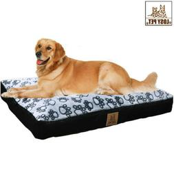 Washable Waterproof Pet Bed Full of Cotton Inside Dog Pad wi