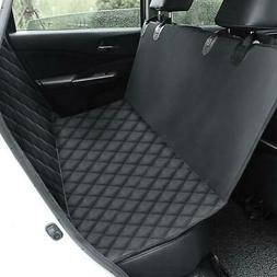 Waterproof Dog Car Seat Cover Bed For Pet Car SUV Rear Bench