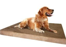 Dogbed4less Extra Large Orthopedic Memory Foam Dog Bed, Wate
