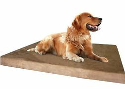 Dogbed4less Premium XL Orthopedic Memory Foam Dog Bed, Water