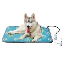 Waterproof Pet Dog Warm Electric Heat Heated Heating Heater