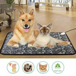 Waterproof Pet Heated Warmer Bed Pad Puppy Dog Cat Bed Mat E