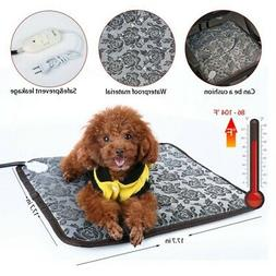 Pet Heated Warmer Bed Waterproof Pad Puppy Dog Bed Cat Mat E