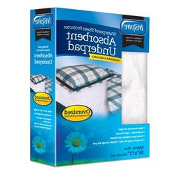 Inspire Washable Reusable Incontinence Underpad, Oversized,