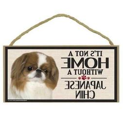 Imagine This Wood Sign for Japanese Chin Dog Breeds