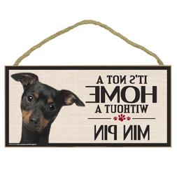 Imagine This Wood Sign for Min Pin Dog Breeds
