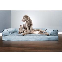 FurHaven XL Memory Foam Dog Cat Soft Orthopedic Sofa Cushion
