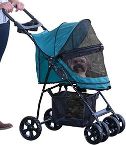 Pet Gear No-Zip Happy Trails Lite Pet Stroller, Zipperless E